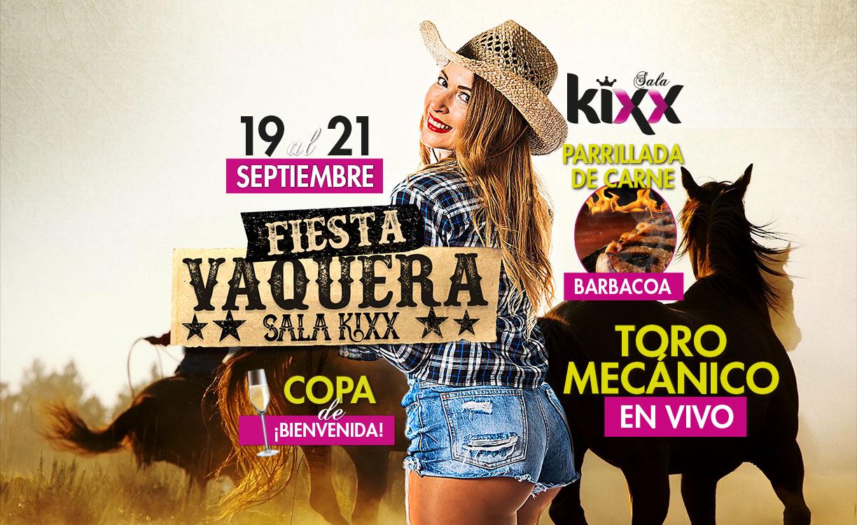 Fiesta Vaquera Sala Kixx