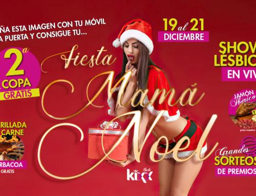 Fiesta Mamá Noel en Madrid